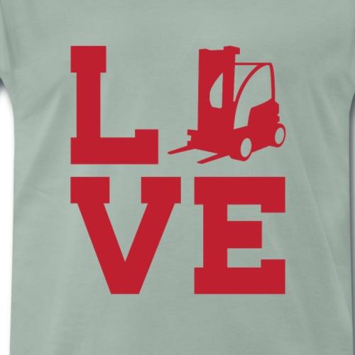 Stapler / Staplerfahrer - Männer Premium T-Shirt