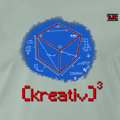 Kreativ hoch drei - Männer Premium T-Shirt