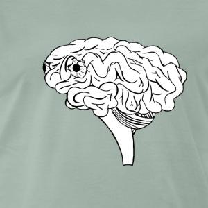 cerveau - T-shirt Premium Homme