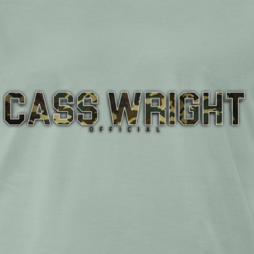 cass wright official camo text - Men's Premium T-Shirt