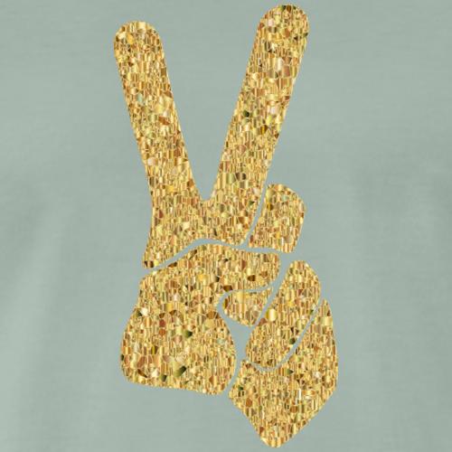Peace Hand Shirt - Männer Premium T-Shirt