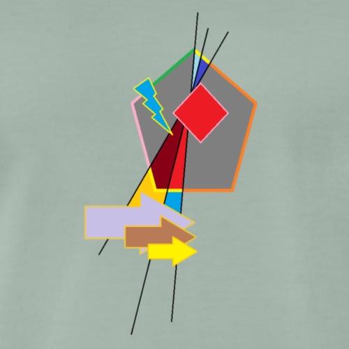 TRANS PAINT - Männer Premium T-Shirt