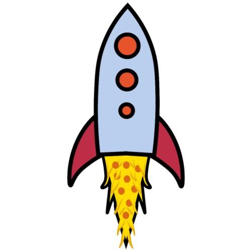 Pizza Rocket - Männer Premium T-Shirt