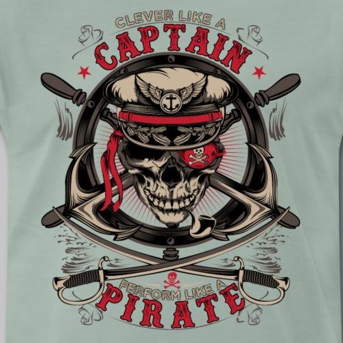 captain pirate - Men's Premium T-Shirt