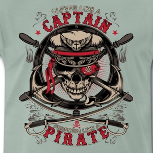 captain pirate - Men's Premium T-Shirt