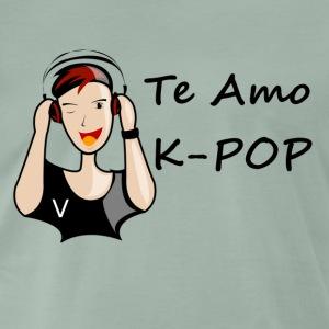 k-pop te amo V - T-shirt Premium Homme