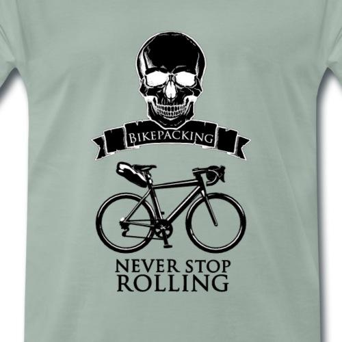 Never Stop black - T-shirt Premium Homme