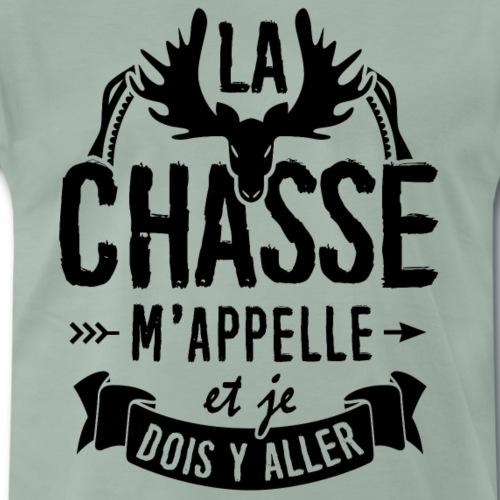 T-shirt pour Chasseur - La Chasse mappelle - T-shirt Premium Homme
