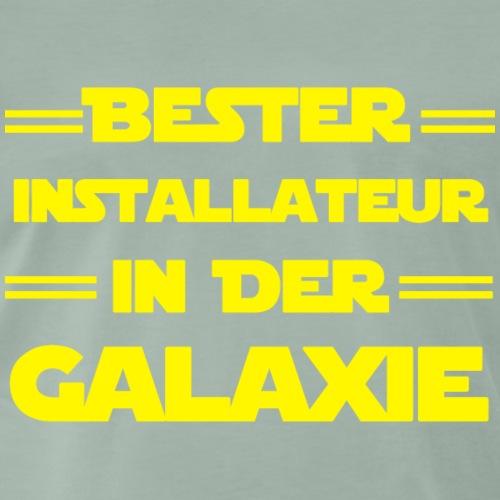 Installateur - Bester Installateur in der Galaxie - Männer Premium T-Shirt