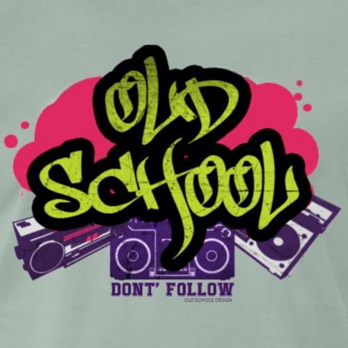 Old School DF - Maglietta Premium da uomo