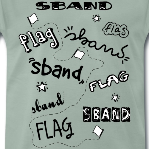 handwritten sband - Maglietta Premium da uomo