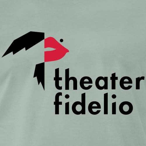 Theater Fidelio Logo - Männer Premium T-Shirt