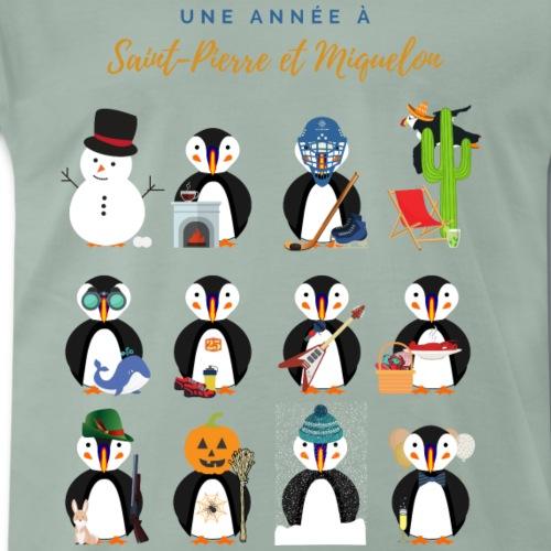 17 - SPM Calendrier Fr - T-shirt Premium Homme