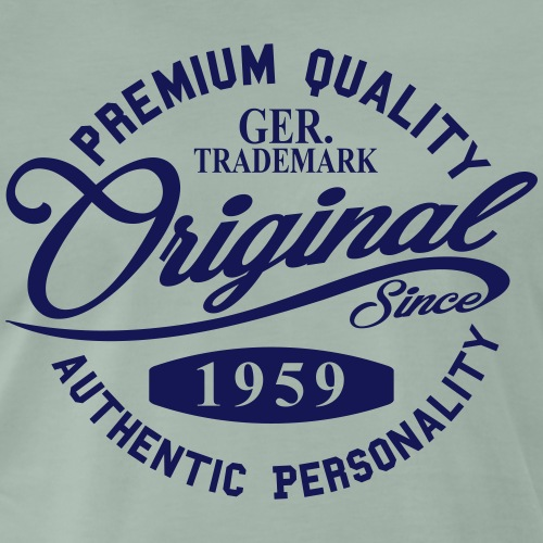 Original Since 1959 Handwriting Premium Quality - Männer Premium T-Shirt