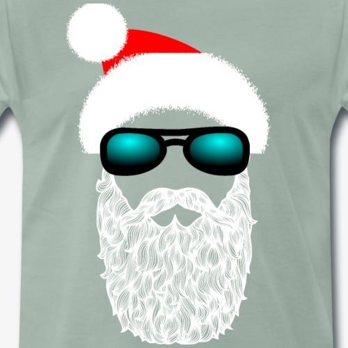Hipster Claus - Männer Premium T-Shirt