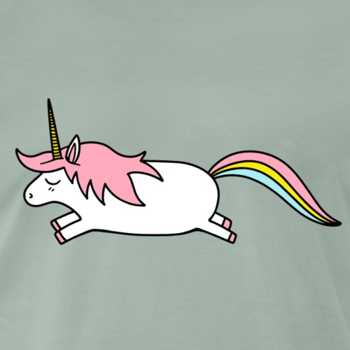 Einhorn Unicorn Regenbogen Geschenk - Männer Premium T-Shirt