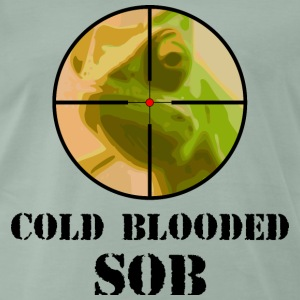 chameleon cold blooded SOB - Men's Premium T-Shirt