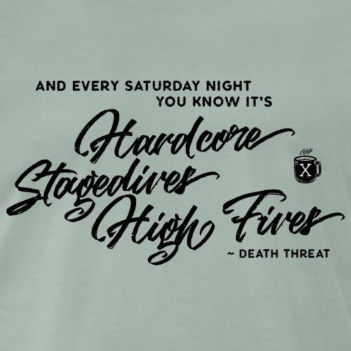 Death Threat – Stagedives HighFives - Männer Premium T-Shirt
