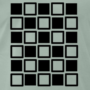 Crazy squares - Men's Premium T-Shirt