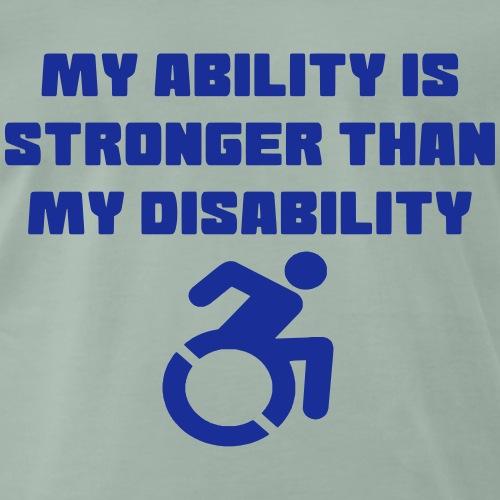 Ability2 - Mannen Premium T-shirt