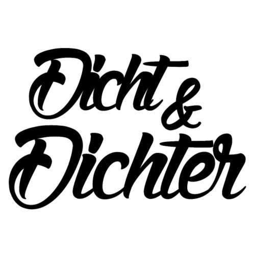 T-Shirt Logo DICHT & DICHTER - Männer Premium T-Shirt