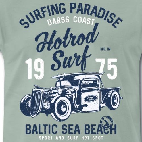 OSTSEE - Darss Küsten Surfer Geschenke Surf Shirts - Männer Premium T-Shirt
