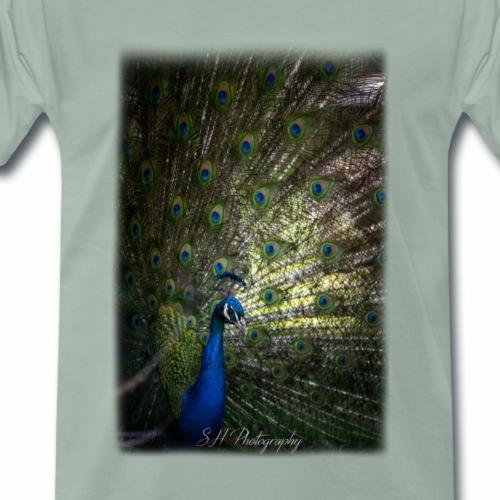 Peacock - Premium-T-shirt herr