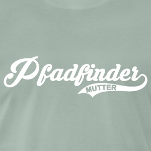 Pfadfinder Mutter - Premium T-skjorte for menn