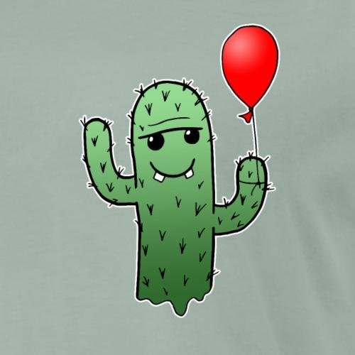 Kaktus Luftballon Comic Baby Kinder süß Geschenk - Männer Premium T-Shirt
