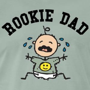 New Rookie Dad - Männer Premium T-Shirt