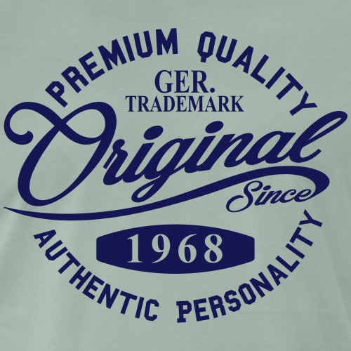 Original Since 1968 Handwriting Premium Quality - Männer Premium T-Shirt