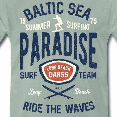 OSTSEE - Darss Strand Surfer Geschenke Surf Shirts - Männer Premium T-Shirt