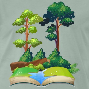 nature book - Men's Premium T-Shirt