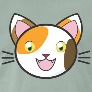Comic Manga Cat Kitty Mitz killing sød meow - Herre premium T-shirt