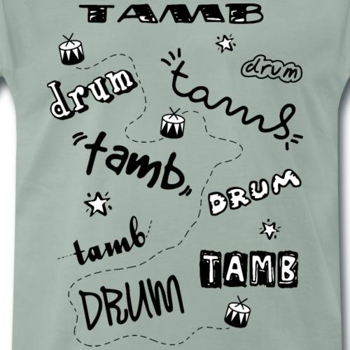 handwritten tamb - Maglietta Premium da uomo