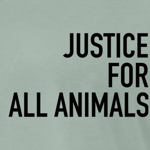 Justice black - Männer Premium T-Shirt