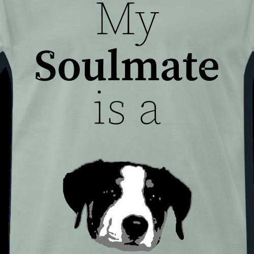 Seelenverwandter Hund - Männer Premium T-Shirt