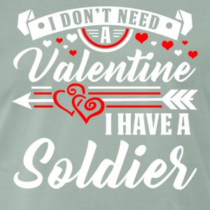 Valentine Soldiers T-shirt and hoodie - Men's Premium T-Shirt