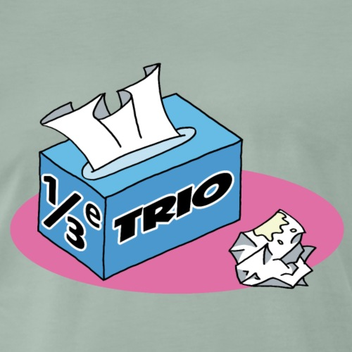 1/3e Trio - Mannen Premium T-shirt