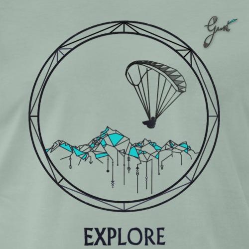 RAFALE Explorez le ciel - T-shirt Premium Homme