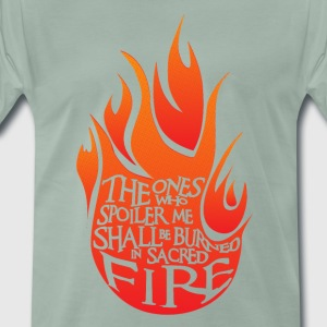 Sacred Fire Red Version - Premium-T-shirt herr