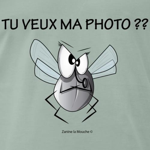 Zanine la Mouche Tu veux ma photo - T-shirt Premium Homme