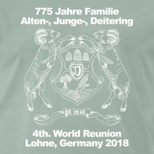 4th. World Reunion Alten-, Junge- und Deitering - Männer Premium T-Shirt