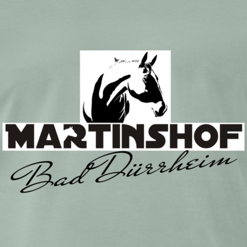 Logo Martinshof V1 - Männer Premium T-Shirt