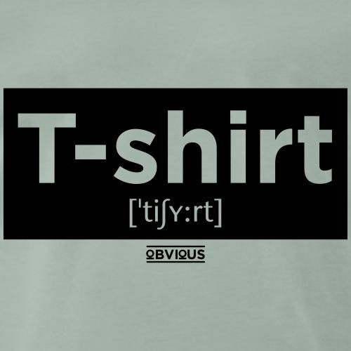 Obvious / T-shirt Kader Zwart - Mannen Premium T-shirt