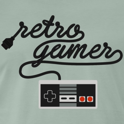 Retro Gamer NES - Men's Premium T-Shirt