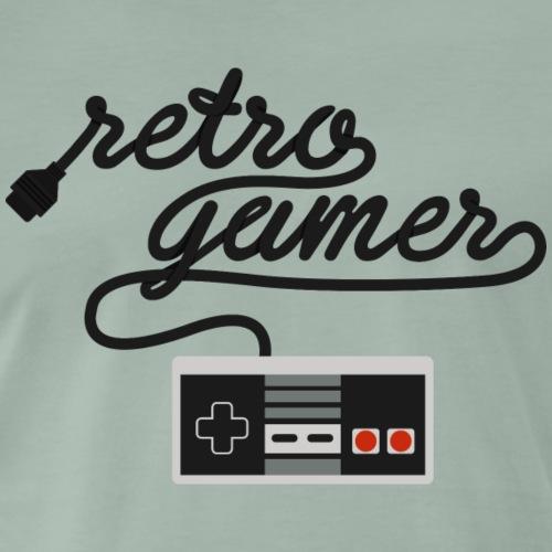 Retro Gamer NES - Men's Premium T-Shirt