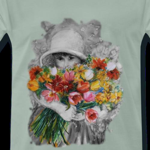 Blumenkind - Männer Premium T-Shirt