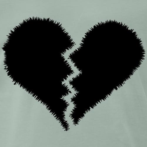 broken heart <3 - Men's Premium T-Shirt