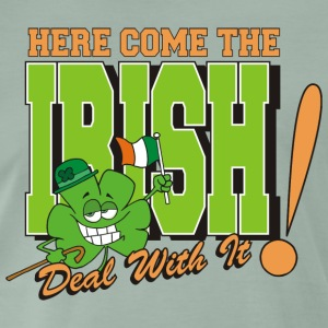 Irish Here Come The Irish Funny - Men's Premium T-Shirt